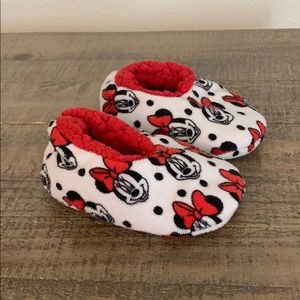 Minnie Mouse slippers toddler size 5